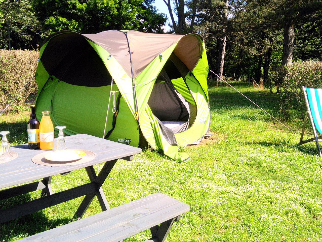 © camping la tière